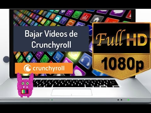 Descargar Vídeos Crunchyroll  a 1080p con Subtitulos  [Rosadin TV]