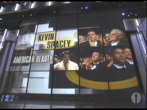 Kevin Spacey Wins Best Actor: 2000 Oscars