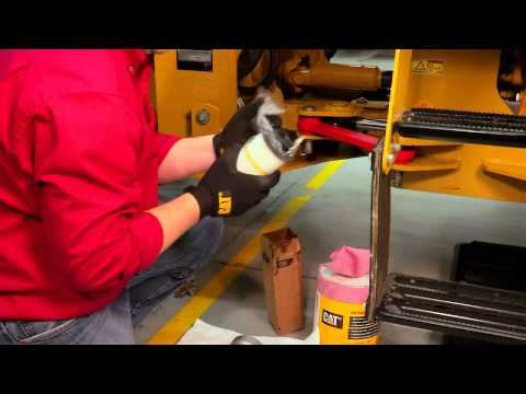 New Hydraulic and Transmission Filter Installation