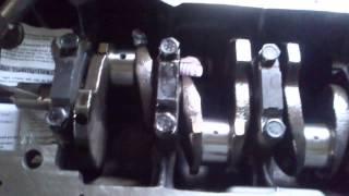 Устанавливаем коленчатый вал ВАЗ (проверка вращения) VTC TUNING