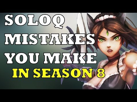 SOLOQ MISTAKES YOU MIGHT BE MAKING IN SEASON 8! NIdalee Top! Gameplay Commentary | League of Legends
