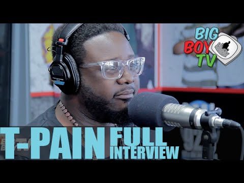 T-Pain Discusses Donald Trump, Kanye West's VMAs Speech, And More! (Full Interview) | BigBoyTV