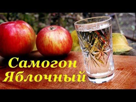Как поставить брагу для самогона на яблоках
