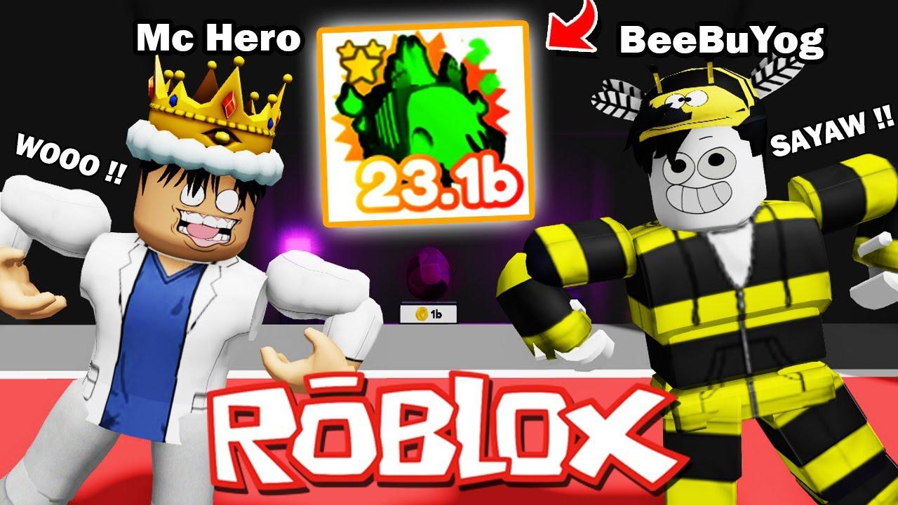 Pet Simulator X - ROBLOX - PINASAYAW AKO NI BeeBuYog PARA SA MYTHICAL PET !!