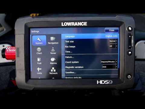 Lowrance SpotlightScan Sonar video from Wired2Fish