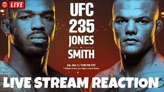 🔴 UFC 235 Jones vs Smith Live Stream Full Show Reactions