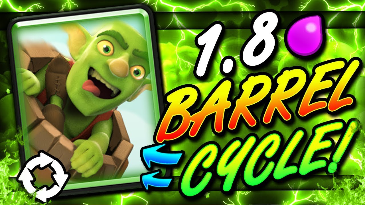Fastest Goblin Barrel Deck Ever 1 8 Cycle This Is Insane Youtube