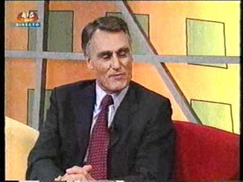 Herman José entrevista Cavaco Silva no Herman Sic