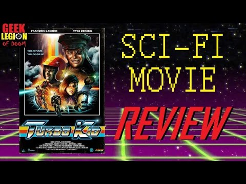 TURBO KID ( 2015 Michael Ironside ) Post Apocalypse Sci-Fi Movie Review