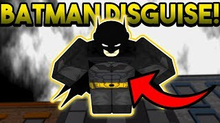 BATMAN DISGUISE TROLLING! | ROBLOX: Super Power Training Simulator