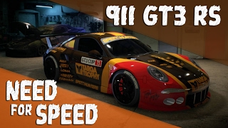 Need for Speed 2015 [PS4] Porsche GT3 RS Customization