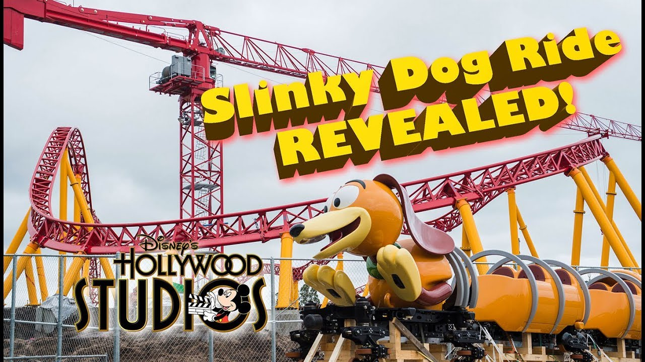 First Look Slinky Dog Ride At Toy Story Land Disney World Youtube