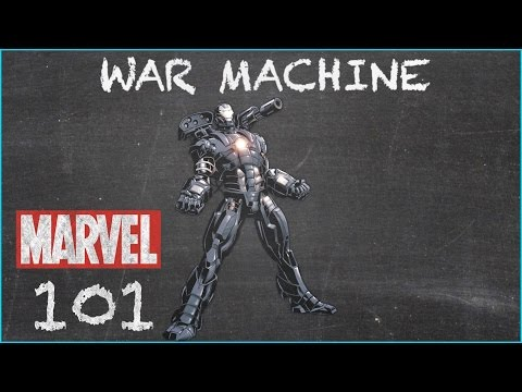 U.S. Marine James Rhodes - War Machine - MARVEL 101