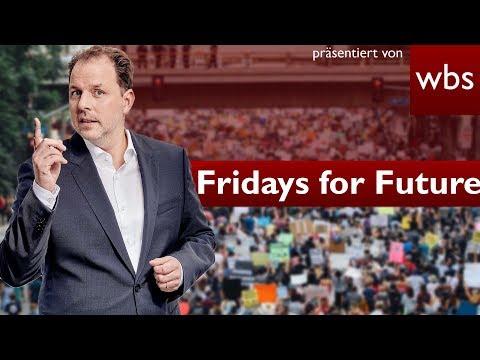 Fridays for Future - Dürfen Schüler streiken & dafür schwänzen?   Rechtsanwalt Christian Solmecke