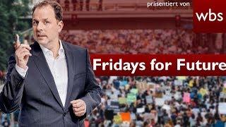 Fridays for Future - Dürfen Schüler streiken & dafür schwänzen? | Rechtsanwalt Christian Solmecke
