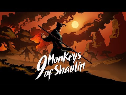 9 Monkeys of Shaolin — Official Announce Trailer