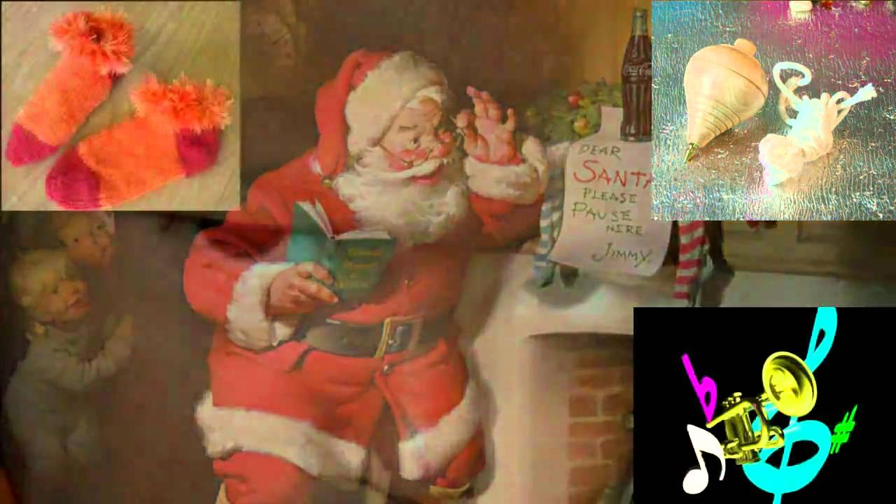 Carta A Santa Claus Goma Espuma Youtube