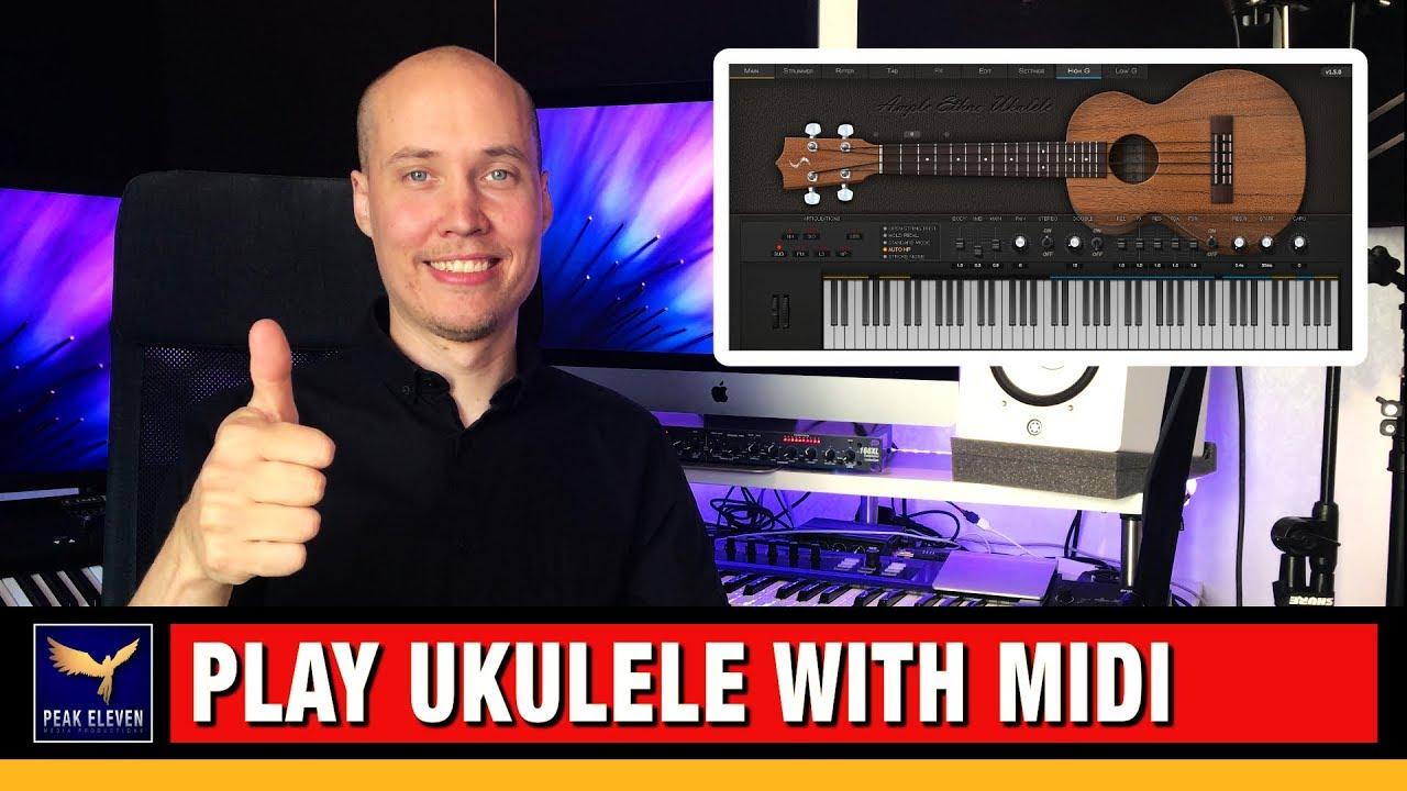 Play Ukulele with MIDI: Ample Ethno Ukulele VST Plugin Review