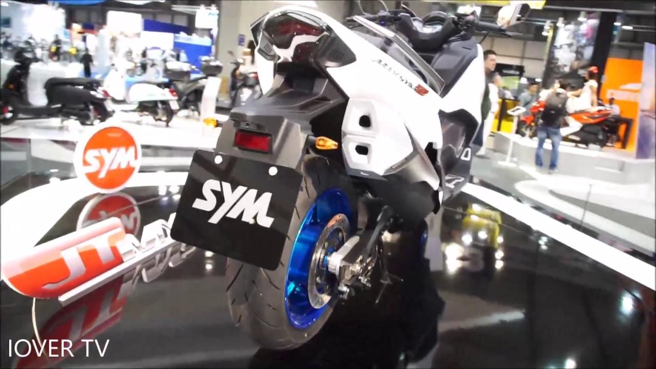 Scooter Sym Maxsym TL - Model 2018