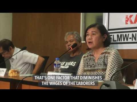 Labor groups, NAPC to present draft EO vs contractualization to Duterte