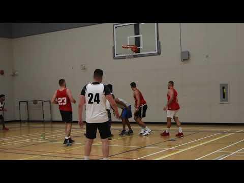 2019 Burnaby Fall League - NHC2 Vs Reds - Roundball BC Mens Basketball League
