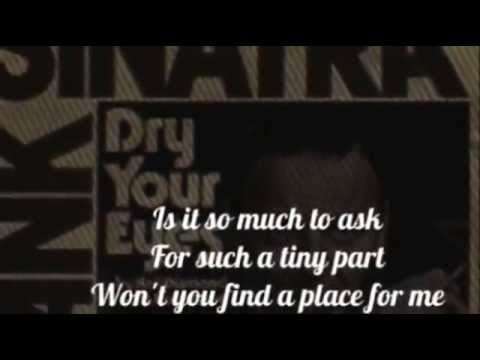 FRANK SINATRA - SOMEWHERE IN YOUR HEART