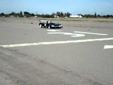 Classic Team Shadow Mk2 first test run