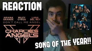 DON'T CALL ME ANGEL (REACTION!) - LANA DEL REY, ARIANA GRANDE & MILEY CYRUS