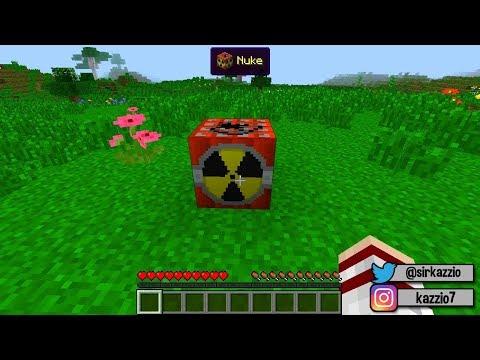Minecraft ADR #34 - VOU EXPLODIR AS CASAS DE TODA A GENTE !