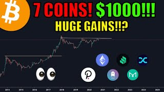 7 Coins For Huge Gains | How I Would Invest $1000 In Cryptocurrency Today! [DEFI EDITION] | Bitcoin