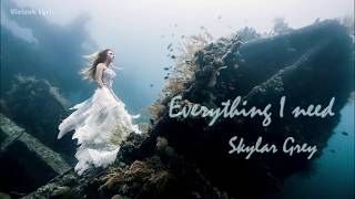 [Vietsub + Lyrics] | Everything I Need - Skylar Grey (Aquaman Soundtrack)