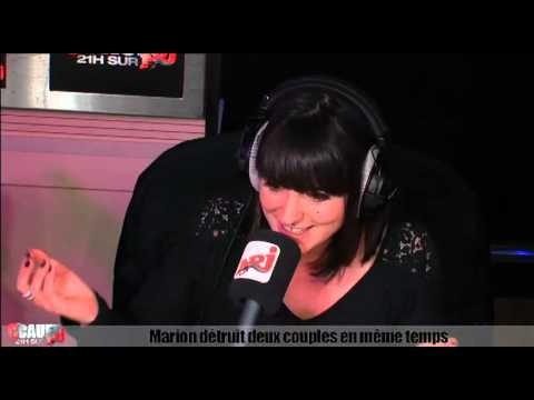 Marion détruit 2 couples en meme temps - C'Cauet sur NRJ