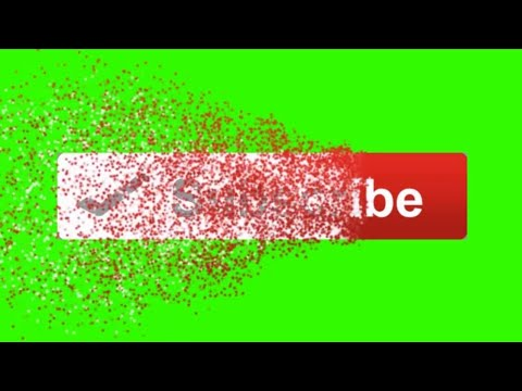 YOUTUBE LIKE AND SUBSCRIBE GREEN SCREEN OVERLAY 3.0 By m tech