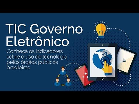 Lançamento Pesquisa TIC Governo Eletrônico 2019