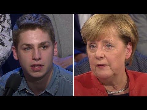 ARD-Wahlarena: Frage an Merkel zur Pflege