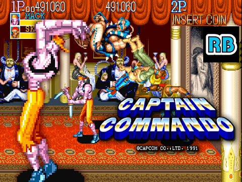 1991 [TAS 60fps] Captain Commando (World) 531640pts Mack ALL
