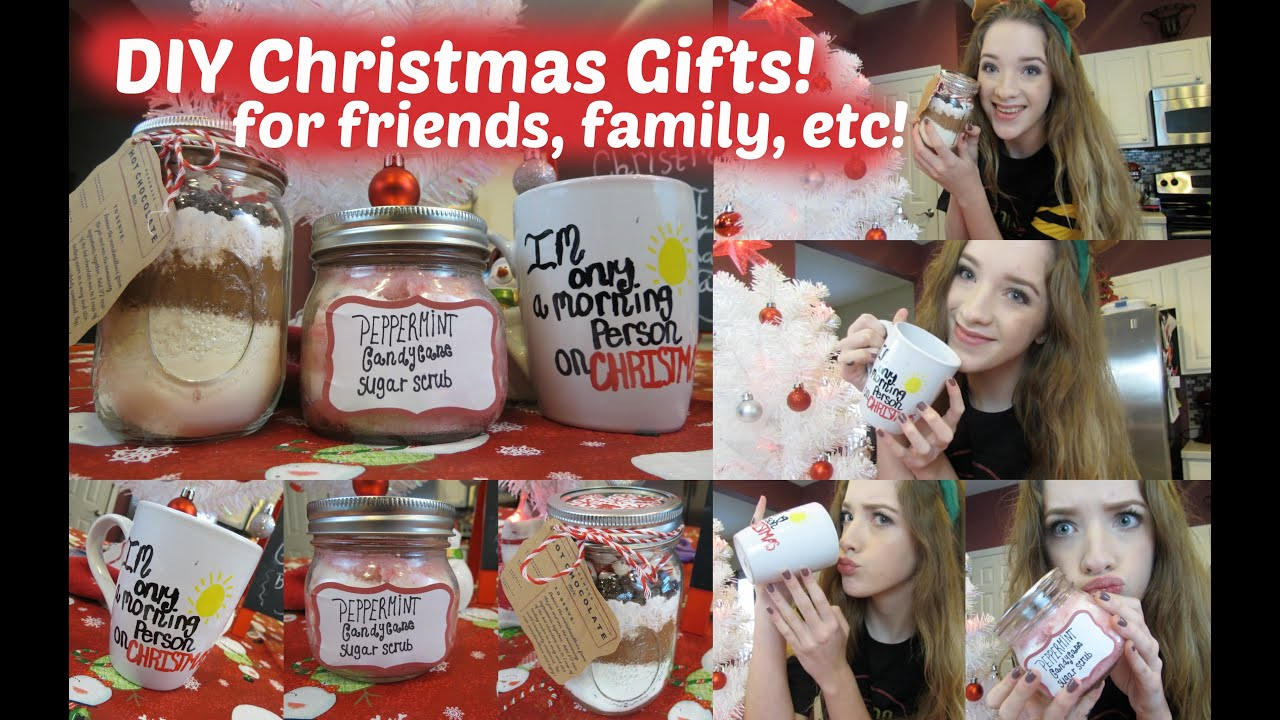 DIY Christmas Gifts! For Friends, Family, Etc! ♡