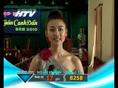 Phỏng vấn Ngân Khánh trong HTV Award 2010.flv