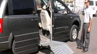 крайслер вояджер для инвалида колясочника
