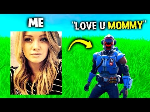 I Pretended To Be His MOM In Fortnite