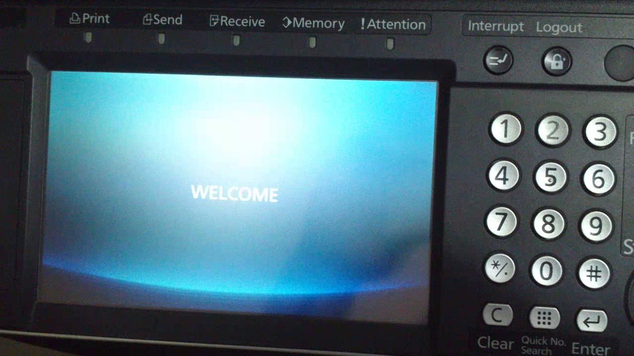 Actualización firmware Kyocera