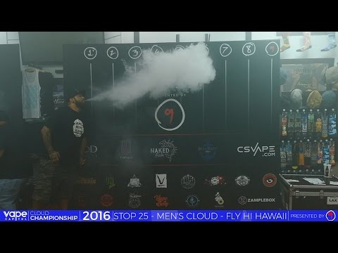 VC Cloud Championship 2016 - Fly Hi Hawaii, HI - Men's Biggest Cloud
