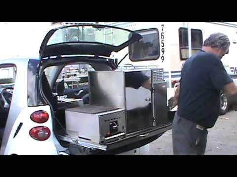 food truck smart car youtube. Black Bedroom Furniture Sets. Home Design Ideas