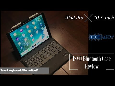 IVSO Bluetooth Keyboard Case for iPad Pro 10.5