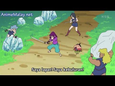 Shinchan Malay Sub 2019-pengembaraan Buriburizaemon 2