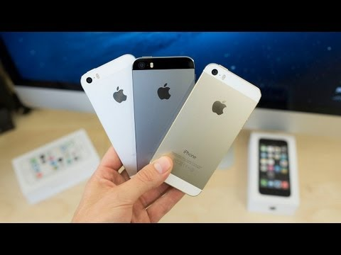 Apple iPhone 5s: Gold vs White (Silver) vs Black (Space Gray) Unboxing & Tour