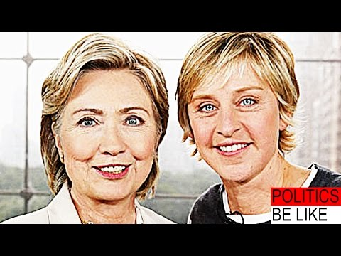 Hillary Clinton Likes Gays Now?? - Politics Be Like