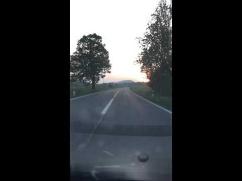 Road in Croatia - Lika Senj county
