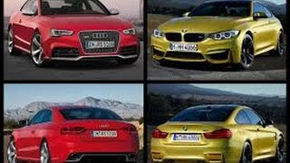 2018 audi rs5 coupe vs bmw m4 x drive