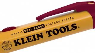 How To Use The Klein Tools NCVT-2 Non Contact Voltage Testers
